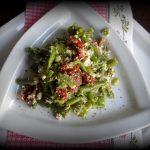 Sałatka z fasolą zieloną