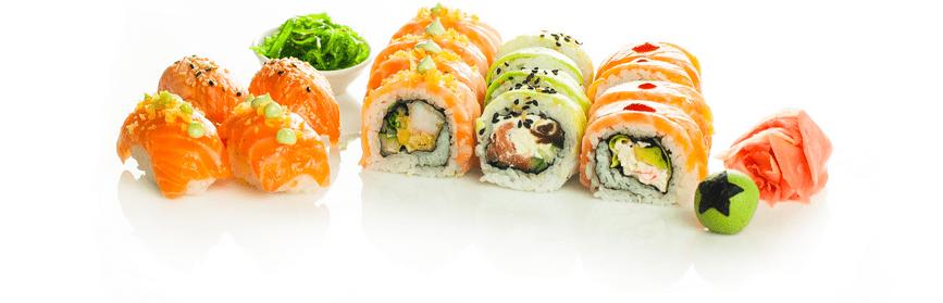 Dietetyczna żywność - sushi