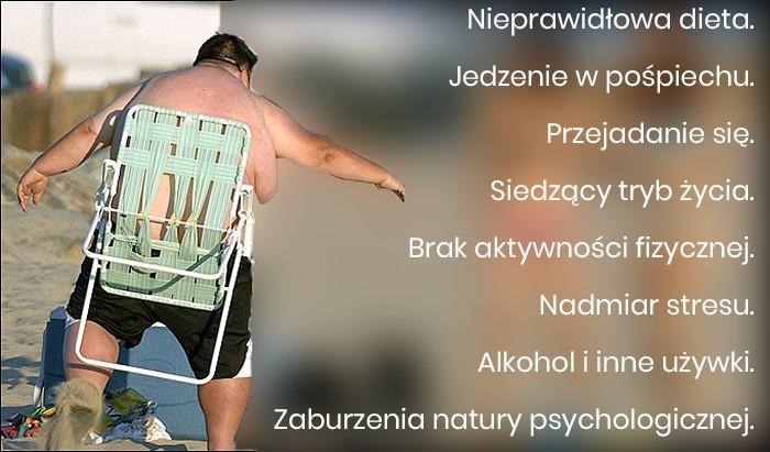 Główne czynniki nadwagi